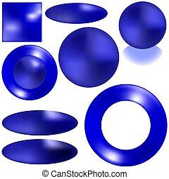 Blue-Ocean Buttons
