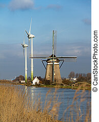 Old and new wind power