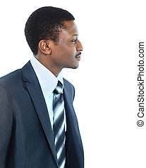 Young African American Male Model on Isolated Background