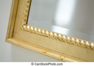 Classic mirror frame