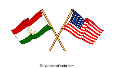 America and Tajikistan alliance and friendship -...