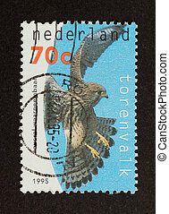 HOLLAND - CIRCA 1990: Stamp printed in the Netherlands shows...