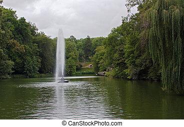 Sofiyivsky Park,Uman,Ukraine - Sofiyivka is a scenic...