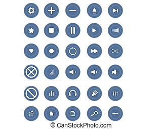 Media and Entertainment Web Icons