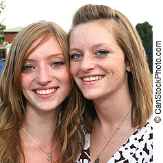 Teen Sisters Best Friends - Teen Youth Sisters and best...