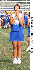 Cheerleader Cheering 6