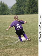 Youth Soccer Action