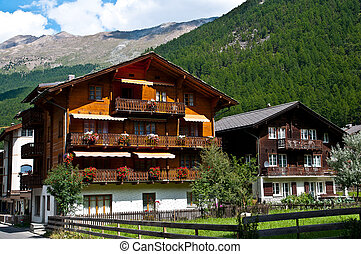 Zermatt is a municipality in the district of Visp in the...