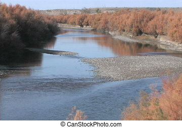 Morning on The Arkansas River - an early morning along the...