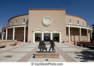 New Mexico State Capital - State capital in Santa Fe, New...