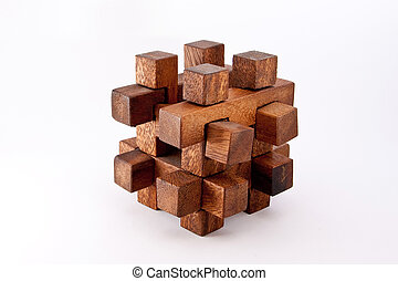 Puzzle - A wood made puzzle