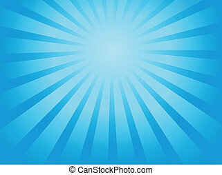 Ray theme abstract background 1 - vector illustration