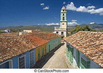 trinidad - beautiful aerial view of Trinidad - Cuba
