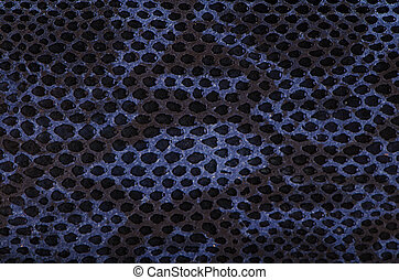 Blue python snake skin texture background