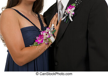 Prom or Wedding - Prom or wedding corsage and boutonniere