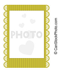 Vector invitation to the wedding isolated on white background. Eps 10