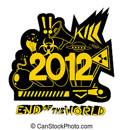 2012, end world - Design of end world emblem