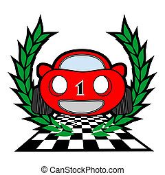 Champion car emblem - Design of champion car emblem