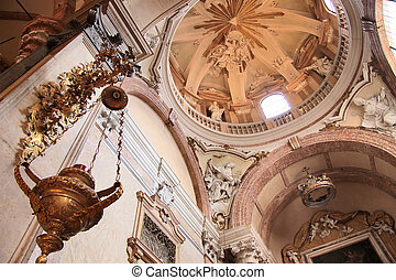 Cupola of the Cathedral of Santa Maria Matricolare in Verona...