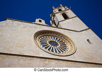 Prioral de Sant Pere in Reus, Spain - The church was built...