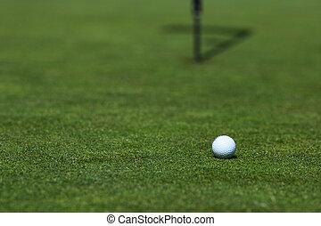 lèvre, balle,  golf, tasse