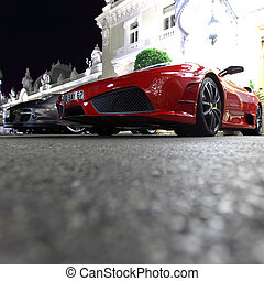 super cars in monte carlo