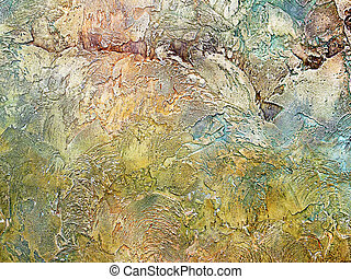 grunge background of multicolored rough plaster - grunge...