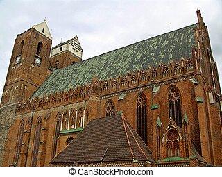Saint Marien church Prenzlau