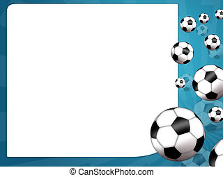 Football - Illustration of a soccer ball