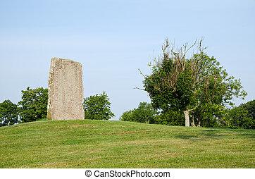 Scandinavian rune stone