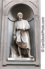 Statue of Donatello - Donato di Niccolo di Betto Bardi (1386...