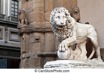 quot;Medici lionquot; by Vacca 1598 - Medici lion by Vacca...