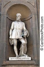 Benvenuto Cellini (1500 - 1571) was an Italian goldsmith,...