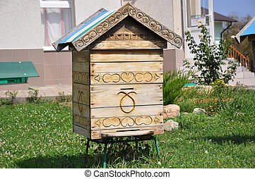 Home for the bees