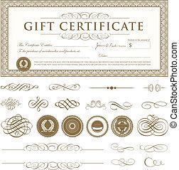 Vector Certificate Set