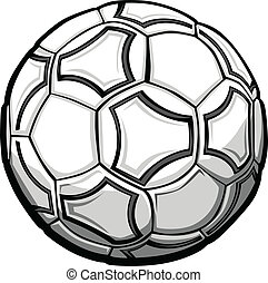Soccer Ball Graphic Vector Illustration