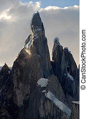 Mount Cerro Torre, Patagonia, Argentina - Mount Cerro Torre...