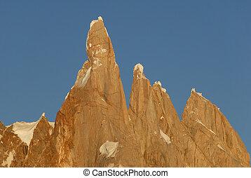 Mount Cerro Torre Los Glaciares National Park, Patagonia,...