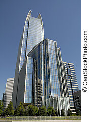 Highrise Office Building - Modern Highrise Office Building...