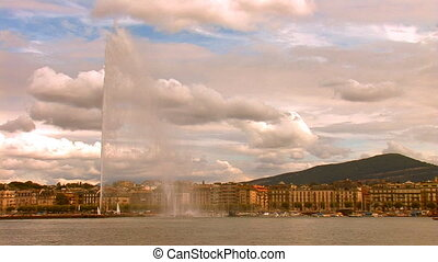 fountain geneva 1 - fountain in Lake Geneva