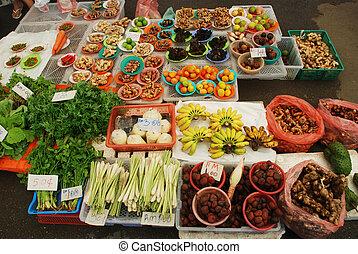 Malaysian market - Borneo