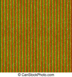 Red, Green & Gold Stripes - Seamless stripe pattern in deep...