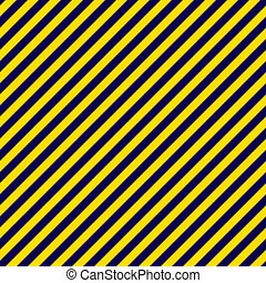 Navy Blue and Gold Diagonal Stripe - Seamless diagonal...
