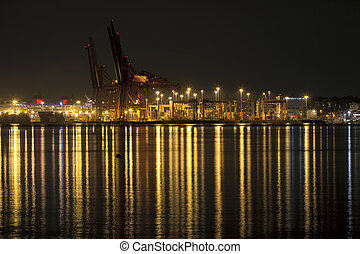 Port of Vancouver BC Canada - Port of Vancouver British...