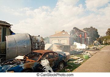 Air Crash Disaster Movie Set