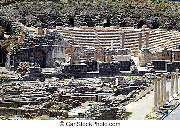 Travel Photos of Israel - Ancient Beit Shean - General view...