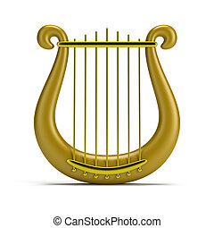 dourado, harpa