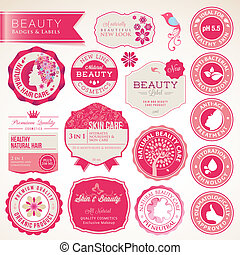 Collection of labels and badges - Collection of vector...