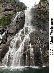 Waterfall in Norway - Waterfall near Stavanger, Norway