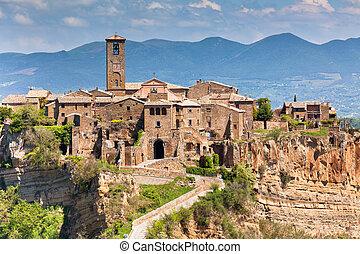 Civita di Bagnoregio, Italy - Italian Hilltown Civita di...